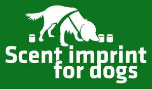 Green label Scent imprint for dogs